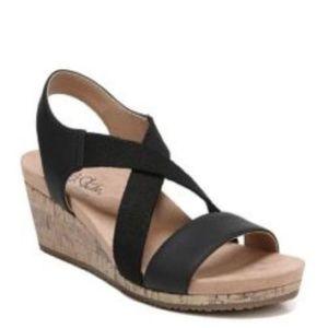 Life Stride, Mexico Women's Sandals Black 7.5